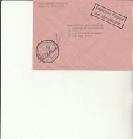 Z1 - Enveloppe Brigade  Gendarmerie LORQUIN    -  En Franchise - - Bolli Militari A Partire Dal 1940 (fuori Dal Periodo Di Guerra)
