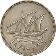 Monnaie, Kuwait, Jabir Ibn Ahmad, 50 Fils, 1979/AH1399, SUP, Copper-nickel - Kuwait