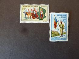TCHAD, Année 1964, YT N° 102 Et 103 Neufs MH* - Tschad (1960-...)
