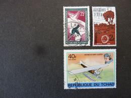 TCHAD, Année 1959-61-78, YT N° 61- 69 - 217 Oblitérés - Tsjaad (1960-...)