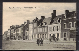 CPA 50  - MONTEBOURG      ( Ref 50 - 1015 ) Rue De Carentan - Unclassified