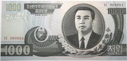 Corée Du Nord - 1000 Won - 2002 - PICK 45a - NEUF - Corea Del Nord