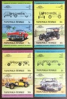 Tuvalu Nanumaga 1984 Cars Automobiles 2nd Series Specimen MNH - Tuvalu (fr. Elliceinseln)