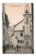 04 COLMARS, Rue Basse Et Place De L'église. Cliché PERRIN, éditeur  FOURNIER à GAP. ( VOIR SCAN ). - Andere Gemeenten