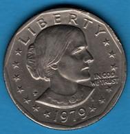 USA 1 Dollar 1979 P KM# 207 Susan B. Anthony - 1979-1999: Anthony