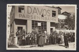 Schweiz AK Davos Parsennbahn 1935 - GR Grisons