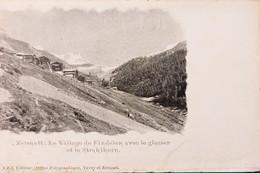 Cartolina - Svizzera - Zermatt - Le Village De Findelen - 1900 Ca. - Non Classificati