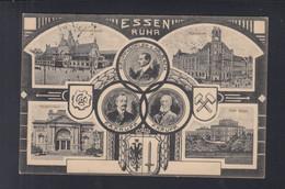 Dt. Reich AK Essen Krupp 1916 - Essen