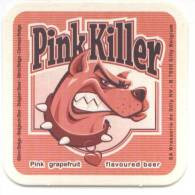 Pink Killer. Pinf Grapefruit Flavoured Beer. Bière Belge. Belgisch Bier. Pamplemousse. Pompelmoes. Brasserie De Silly. - Bierdeckel