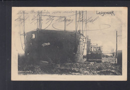Belgien AK Langemark Gasanstalt 1916 - Langemark-Pölkapelle
