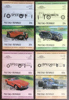 Tuvalu Niutao 1985 Automobiles 2nd Series Specimen MNH - Tuvalu (fr. Elliceinseln)