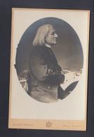 Kabinettphoto Franz Liszt Von Louis Held Weimar - Künstler