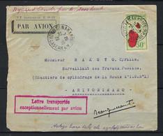⭐ Madagascar - Premier Vol - Tananarive / Arivonimamo - Le 20 / 10 / 1936 - Signé Par Le Pilote ⭐ - Airmail