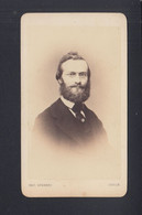 Kabinettphoto Kleinformat Ernst Karl Abbe Physiker Um 1875 - Andere Persönlichkeiten