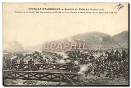 CPA Nuits Saint Georges Bataille De Nuits 18 Decembre 1870 Militaria - Nuits Saint Georges