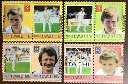 Tuvalu Nui 1985 Cricketers Specimen MNH - Tuvalu (fr. Elliceinseln)