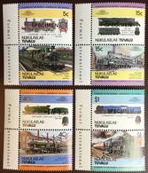 Tuvalu Nukulaelae 1984 Locomotives 1st Series Specimen MNH - Tuvalu (fr. Elliceinseln)