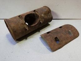 Rarissime Grenade Française WW1 OP1 Pétard Offensif LAFFITTE 2ème Modèle 1915 Neutralisée Inerte ( R 38 ) Poilu Verdun - Decorative Weapons