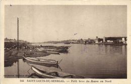 SAINT LOUIS DU SENEGAL  Petit Bras Du Fleuve Au Nord RV - Senegal