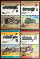 Tuvalu Nukulaelae 1985 Locomotives 3rd Series Specimen MNH - Tuvalu (fr. Elliceinseln)