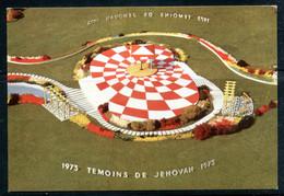 Témoins De Jéhovah 1973 - Estrade De L'assemblée Internationale Au Stade De Colombes (carte Vierge) - Sonstige