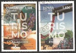 2021-ED. 5449 Y 5450 - Turismo  Balnearios Y Turismo Enológico -USADO - 2011-... Used