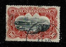 Belg. Congo/Congo Belge 1894 OBP/COB 19 Matadi (2 Scans) - 1894-1923 Mols: Usati