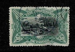 Belg. Congo/Congo Belge 1894 OBP/COB 24 (2 Scans) - 1894-1923 Mols: Usati