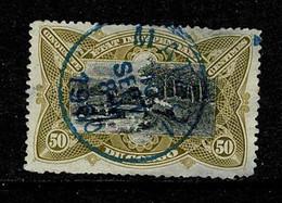 Belg. Congo/Congo Belge 1894 OBP/COB 25 Matadi 1900 (2 Scans) - 1894-1923 Mols: Usati