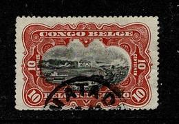 Belg. Congo/Congo Belge 1915 OBP/COB 65 Matadi (2 Scans) - 1894-1923 Mols: Usati