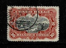 Belg. Congo/Congo Belge 1915 OBP/COB 65 (2 Scans) - 1894-1923 Mols: Usati
