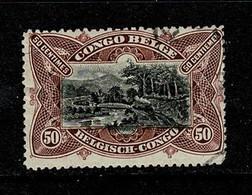 Belg. Congo/Congo Belge 1915 OBP/COB 69 (2 Scans) - 1894-1923 Mols: Usati