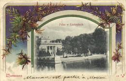 Warszawa Palac V Lazienkach Recto Verso - Polen