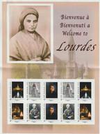 France Collector à -30% Sous La Faciale Lourdes Neuf ** 10 Timbres Monde Faciale 15 - Collectors