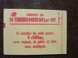 1977  Sabine 1,00F Rouge  Code Postal    Y&T = 1972-C3  Conf.8  Gomme Brillante  Daté 5/12/77  ** MNH - Freimarke