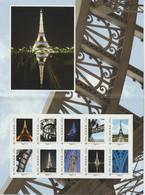 France Collector à -30% Sous La Faciale Tour Eiffel Neuf ** 10 Timbres Monde Faciale 15 - Collectors
