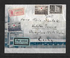1939 Finnland → Luftpost R-Brief Helsinki Nach Kostelec Böhmen & Mähren  ►RAR◄ - Covers & Documents