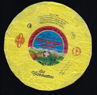 """étiquette Fromage Petit Reblochon De Savoie Les Cornettes  240g   Hte Savoie 74 AA  Verdannet Sa Anneçy"""" Vache"""" - Käse"""