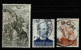 Belg. Congo/Congo Belge 1947 OBP/COB 274/76 - 1947-60: Usati