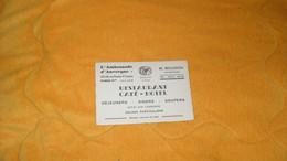CARTE PUBLICITAIRE DATE ? .../ L'AMBASSADE D'AUVERGNE RESTAURANT CAFE HOTEL..PARIS 3e.. - Advertising