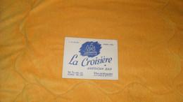 CARTE PUBLICITAIRE DATE ? .../ LA CROISIERE AMERICAN BAR PARIS 9e... - Advertising