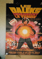 """""""Les Daleks Envahissent La Terre"""" B. Cribbins, Ray Broock...1966 - 120x160 - TTB - Posters"""
