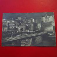 CARTE PHOTO INTERIEUR CAFE TABAC LIEU A IDENTIFIER - Te Identificeren