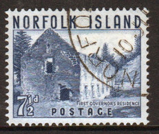 Norfolk Island 1953 Single 7½d Stamp From The Definitive Set. - Isola Norfolk