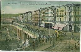 48. Alger - Perspective Du Boulevard De La République - Alger