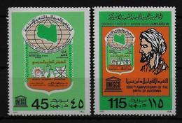 LIBYE   N°  886/87 * * Medecin Avicenne - Medicina