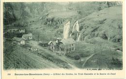 560. Baume Les Messieurs (Jura) - L'Hotel Des Grottes, Les Trois Cascades Et La Source Du Dard - Baume-les-Messieurs