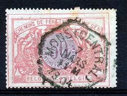 "TR 35 -  ""MONS (CENTRAL)"" - Cachet Exagonal - (ref. ZE-33.550) - 1895-1913"
