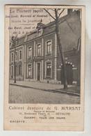 CPA PUBLICITE CABINET DENTAIRE - Docteur G. MARSAT 41 Boulevard Thiers BETHUNE (Pas De Calais) - Advertising