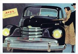 OPEL CAMPAGNA PUBBLICITARIA 1951 - Other